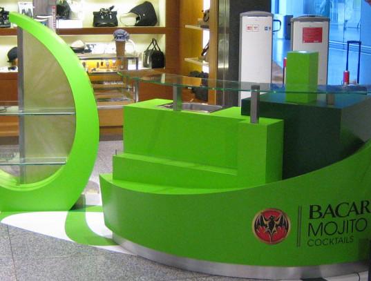 Barcardi mobile Displays