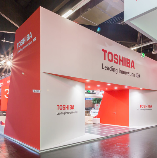 Toshiba Eingangsportal