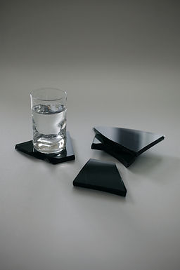 FRACTURE COASTERS, TINTED