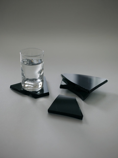 aetelier tinted fracture coasters on 01.