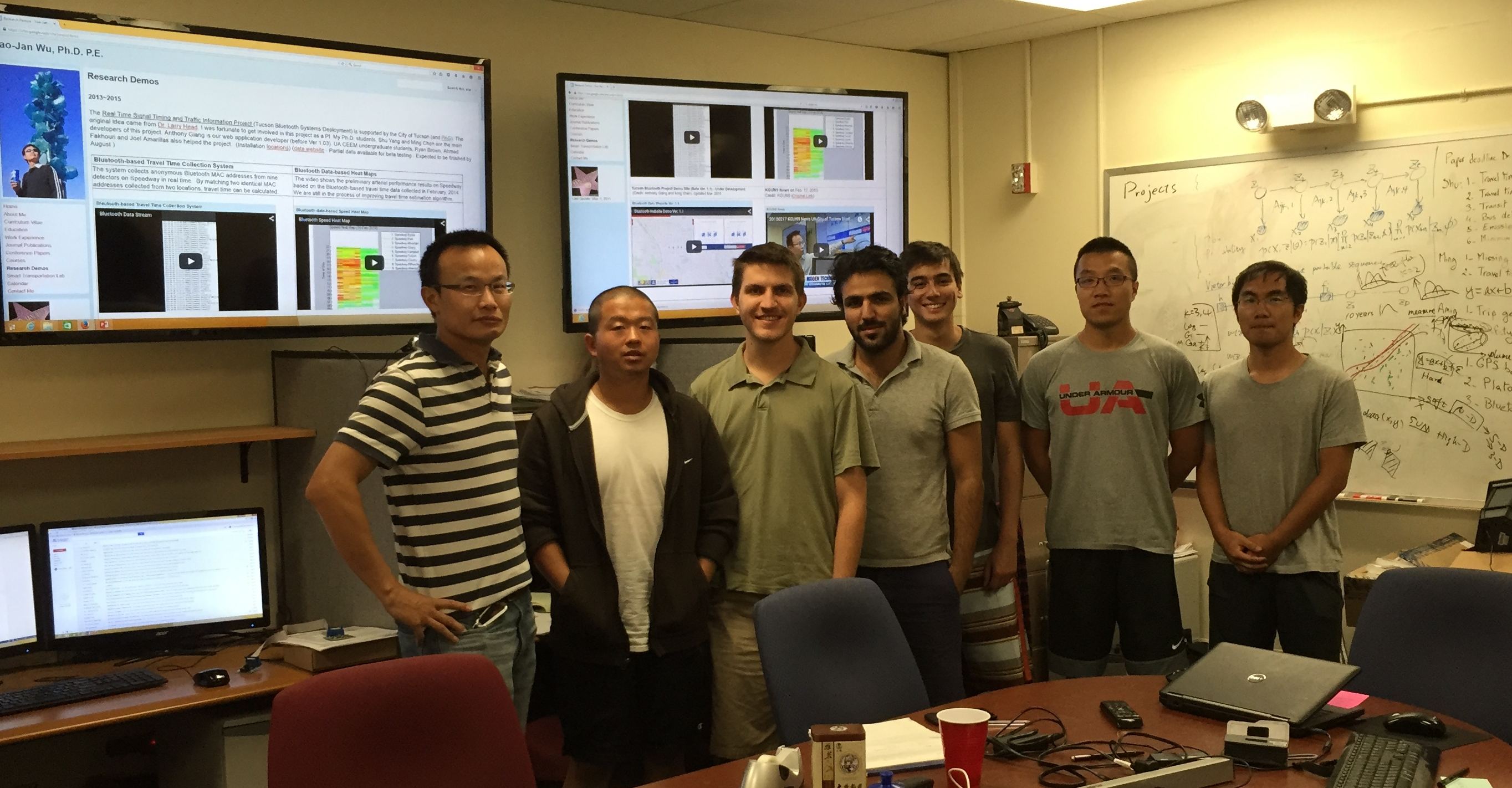 STL Lab Members Summer 2015