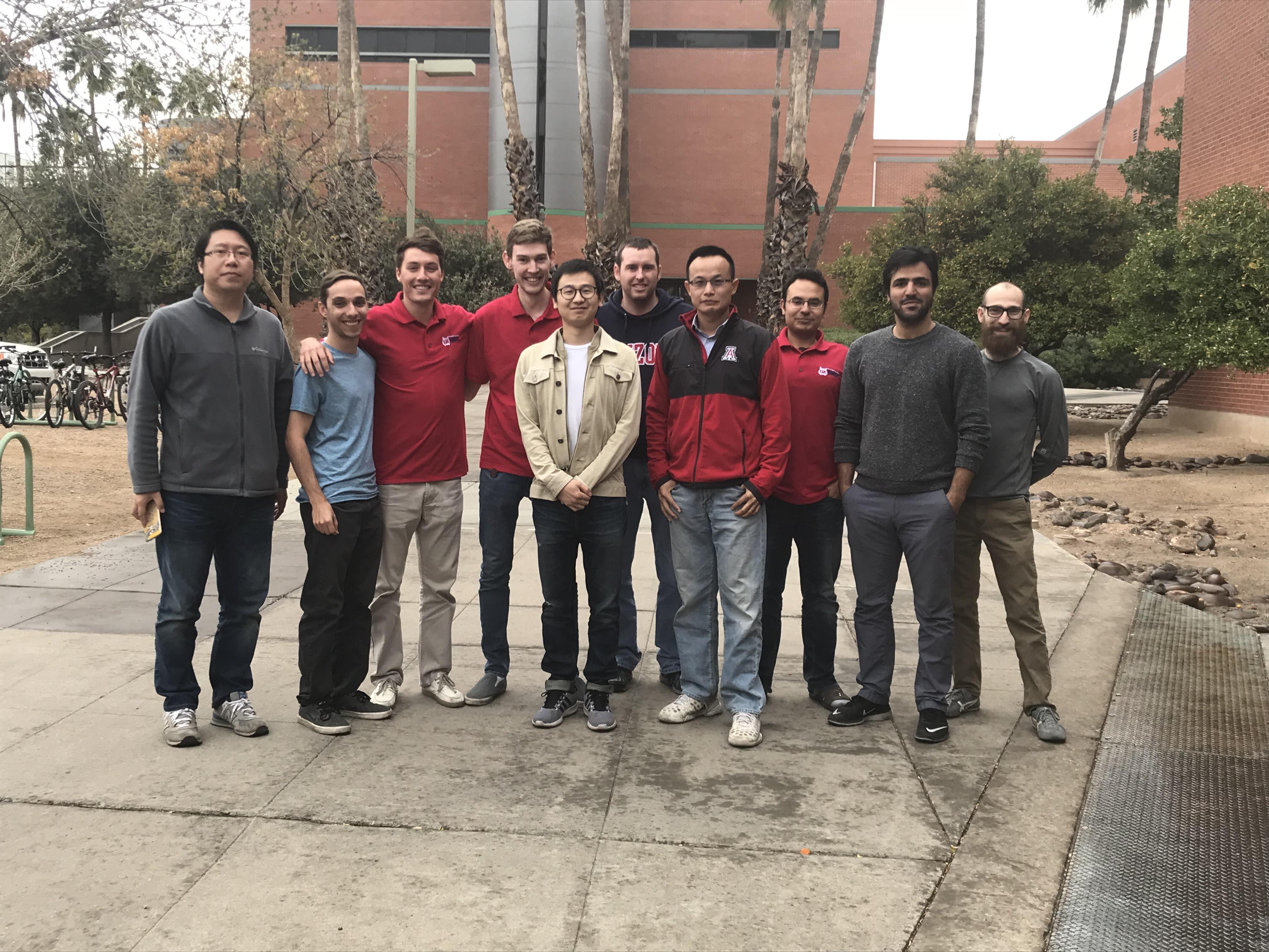 STL Lab Members Spring 2018