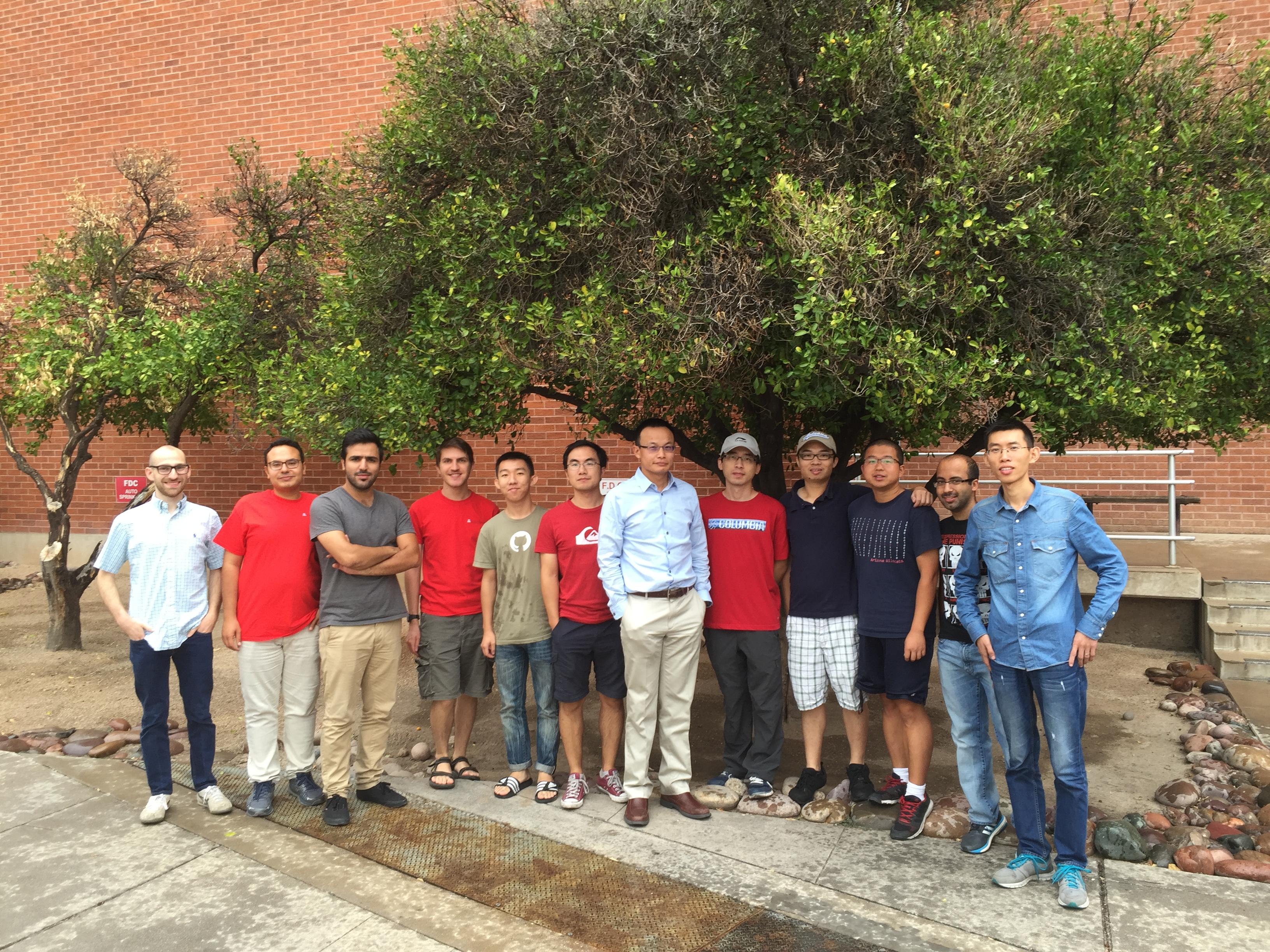 STL Lab Members Fall 2016