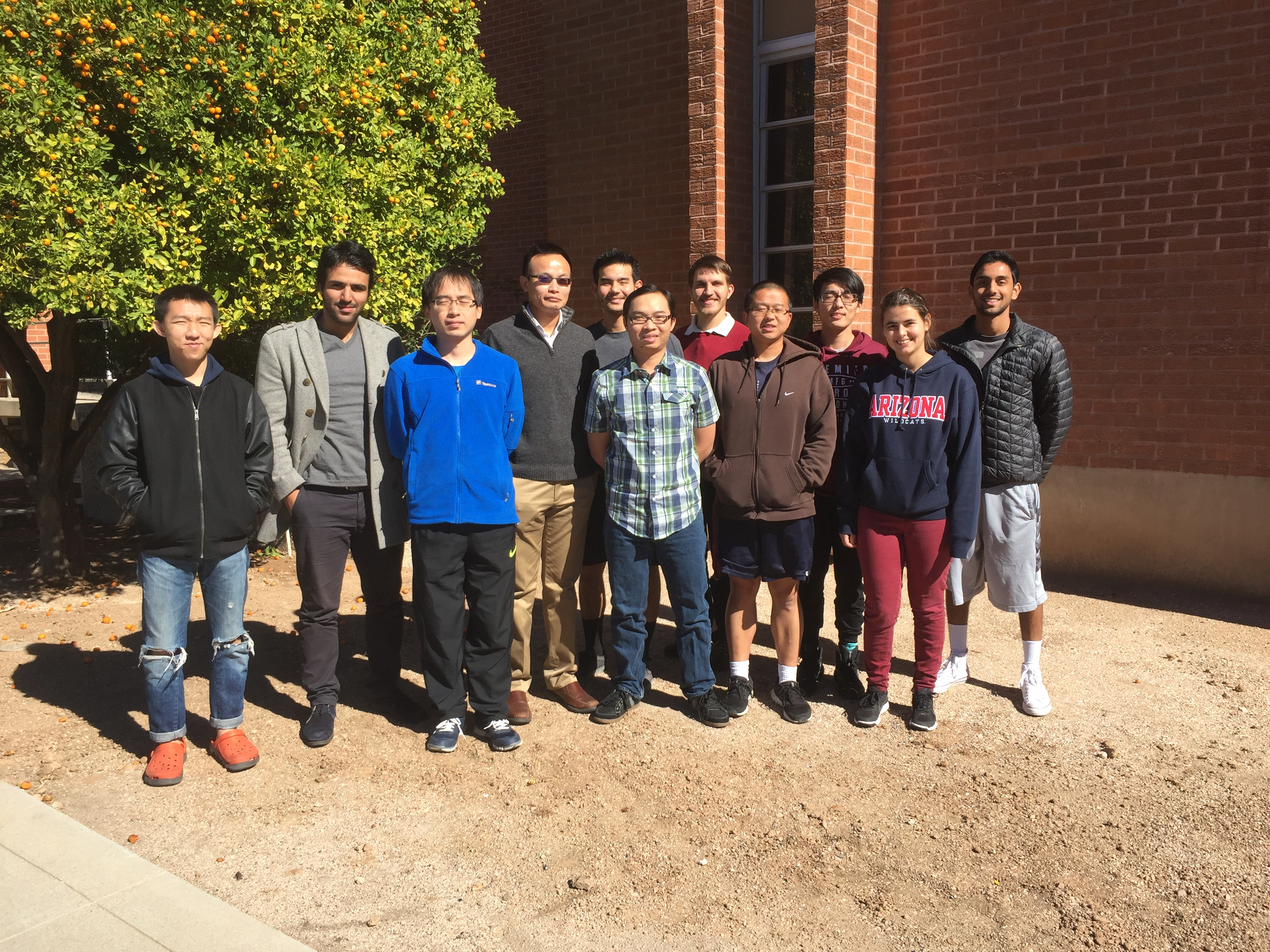 STL Lab Members Spring 2016