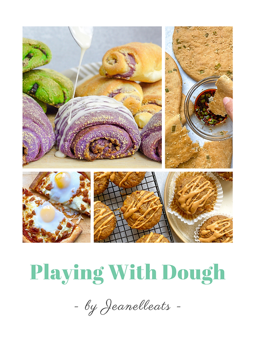 Playing With Dough Cookbook