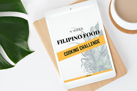 4 Week Filipino Cooking Challenge Clicka