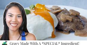Loco Moco Recipe (similar to Jollibee Filipino Burger Steak)