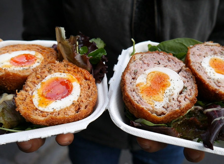 8 Things To Eat in Borough Market, London | Scotch Eggs, Duck Confit, and MORE!