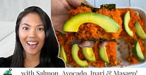 Sushi Bake Recipe With Salmon (Sushi Casserole)
