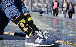 16132 Дизайнерские носки серии Великие п