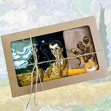 18068 Набор носков (3 пар) серии Картины Здесь был Винсент, р-р 36-42, 2690000018068 (3).j