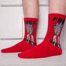 21280 Тематические носки серии Рик и Мор