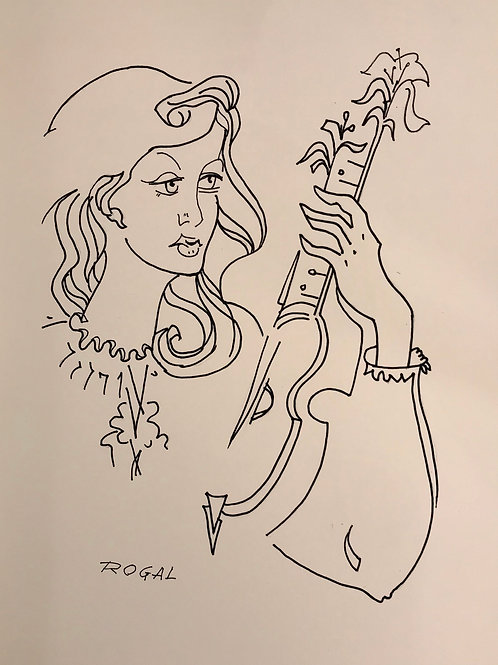 """""""The Guitarist"""" by ROGAL"""