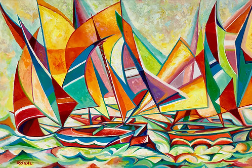 """""""Sails to The Wind"""" by ROGAL"""