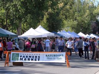 Farmers market pumps $1 million through local economy.