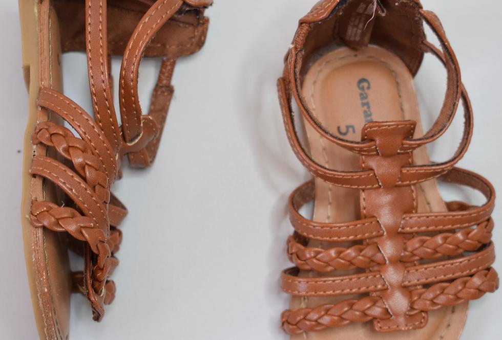 Garanimals Braided Gladiator Sandals 5