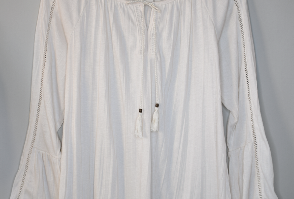 French Laundry Peasant Blouse M