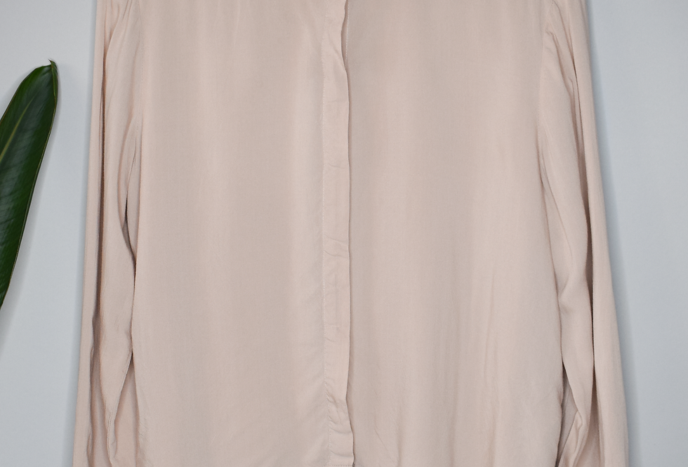 H&M Beaded Button Up Shirt 8