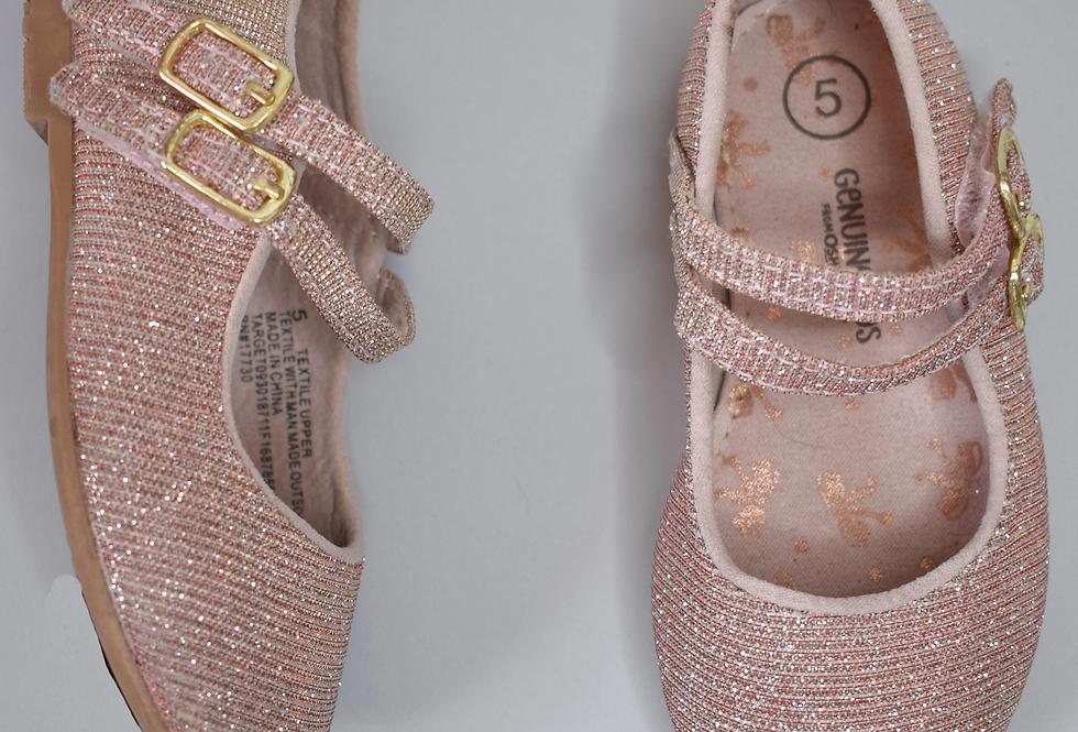 OshKosh B'Gosh Pink Glitter Flats 5