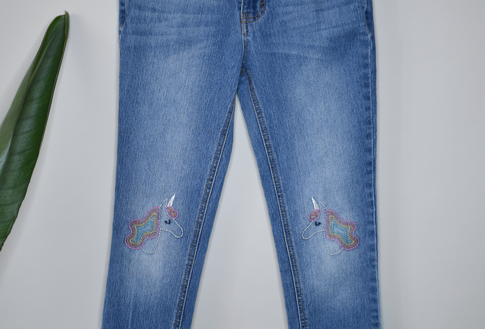 Cat & Jack Super Skinny Unicorn Jeans 10