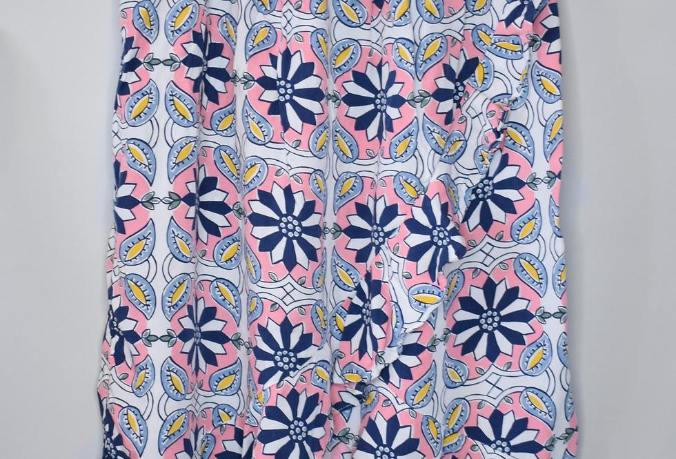 Carter's Kid Floral Faux Wrap Maxi Skirt 10/12