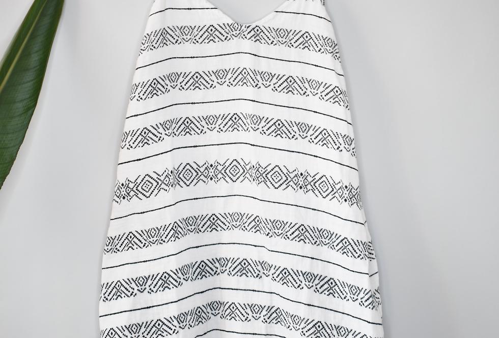Sonoma Sleeveless Printed Dress S