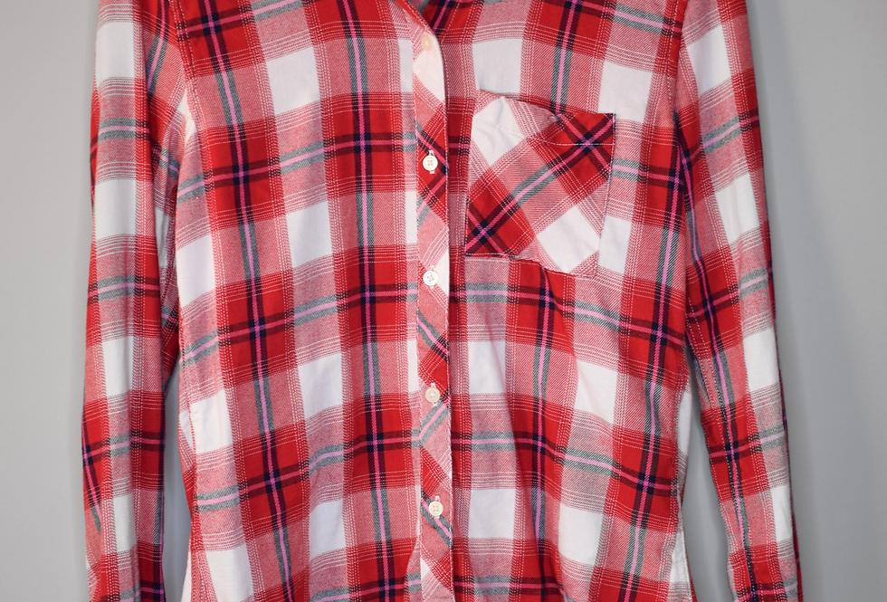 Gap Plaid Flannel Shirt XS
