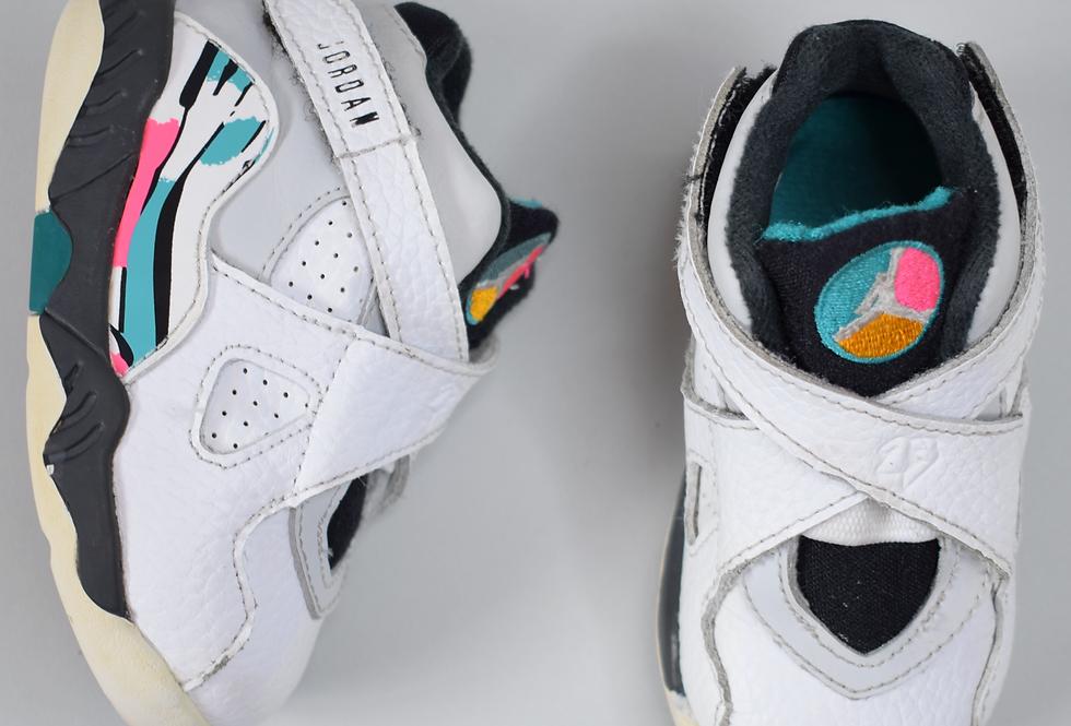 Jordan 8 South Beach Retro Sneakers 5C