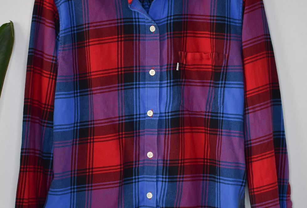 Levi's Boyfriend Fit Flannel Shirt M