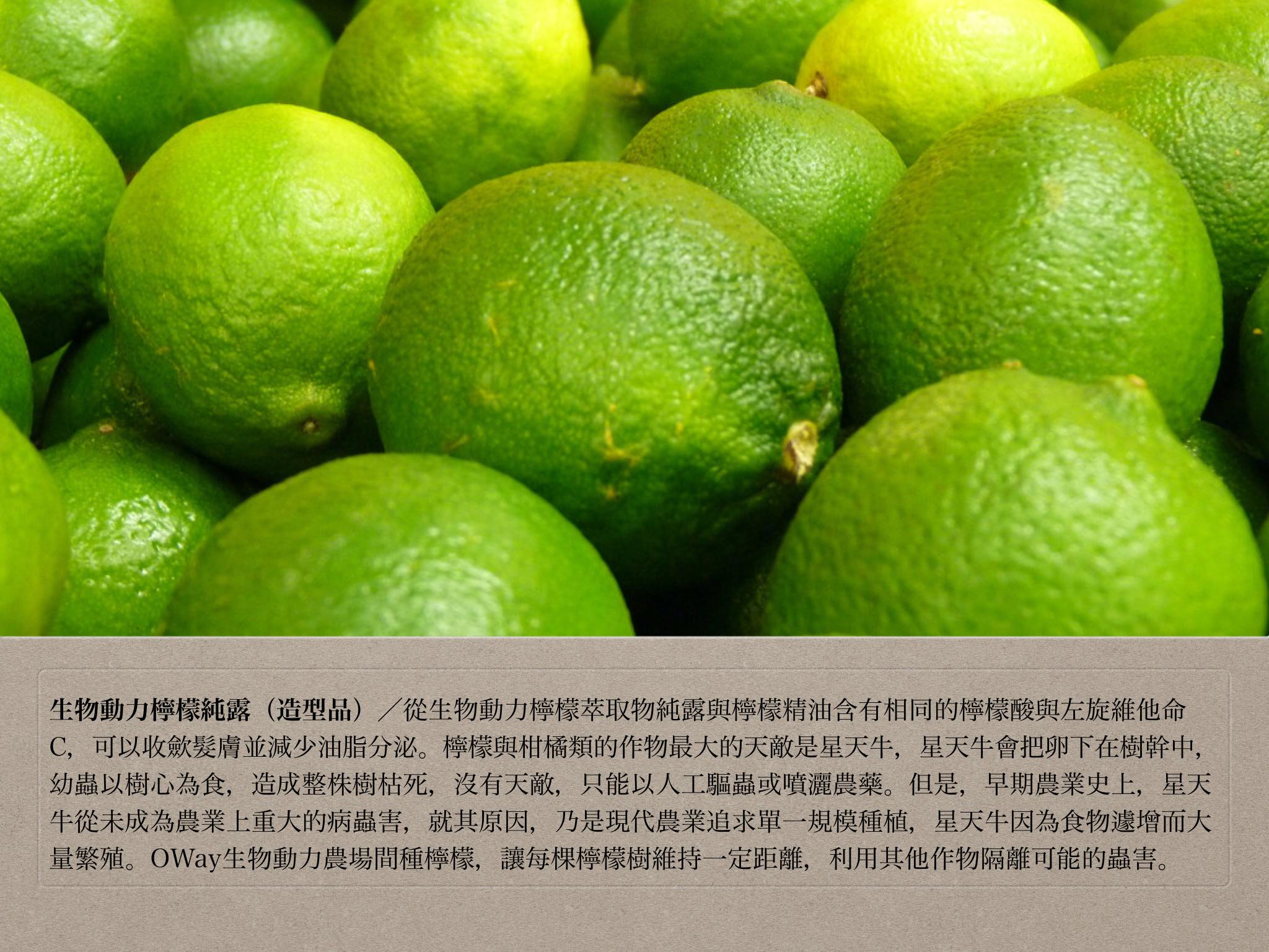 生物動力檸檬