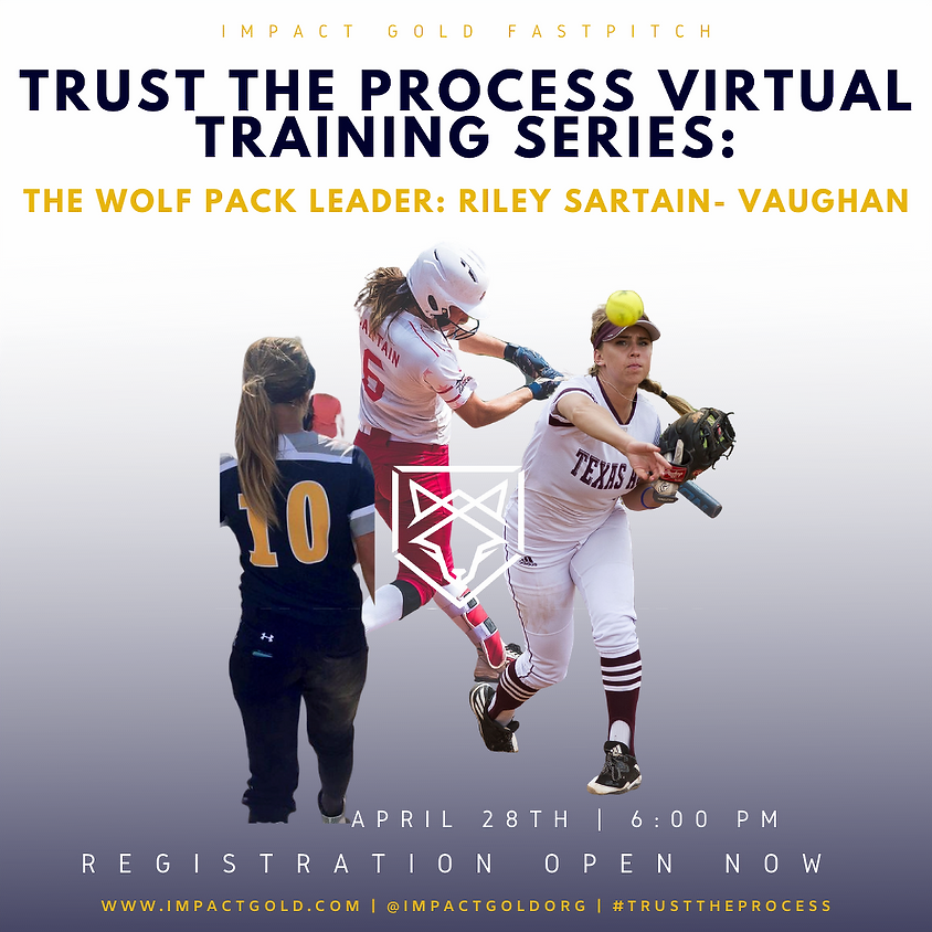 TRUST THE PROCESS VIRTUAL TRAINING SERIES: Riley Sartain- Vaughan