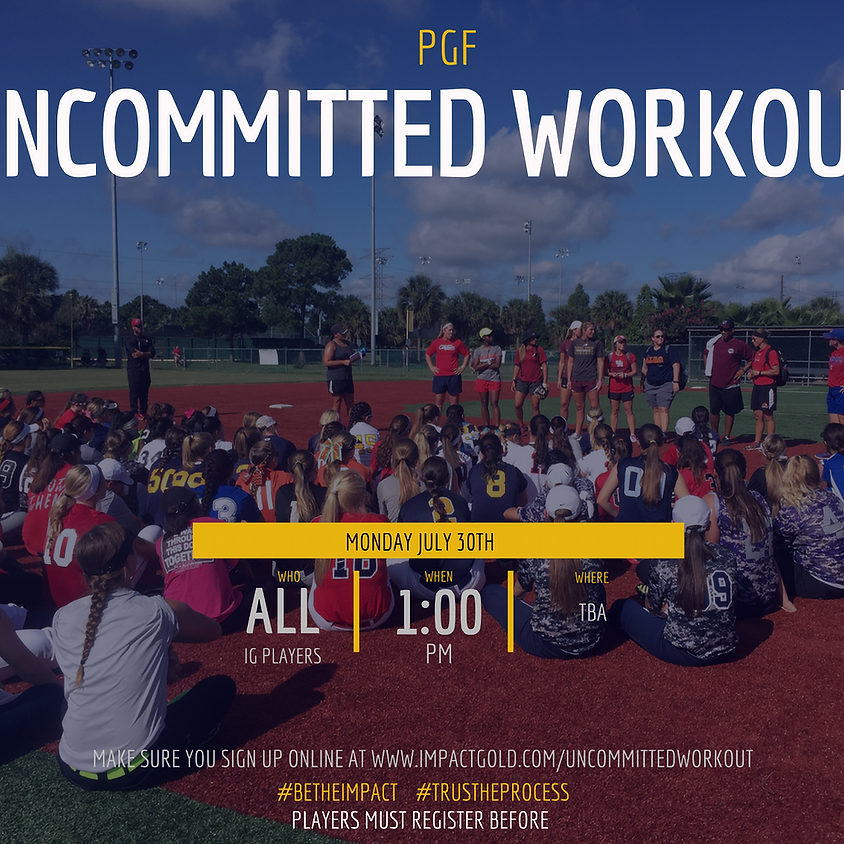IG PGF UNCOMMITTED WORKOUT