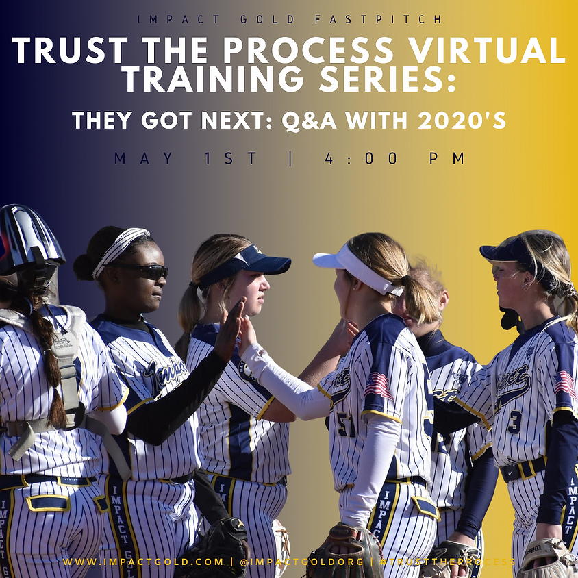 TRUST THE PROCESS VIRTUAL TRAINING SERIES: They Got Next Q&A with 2020s