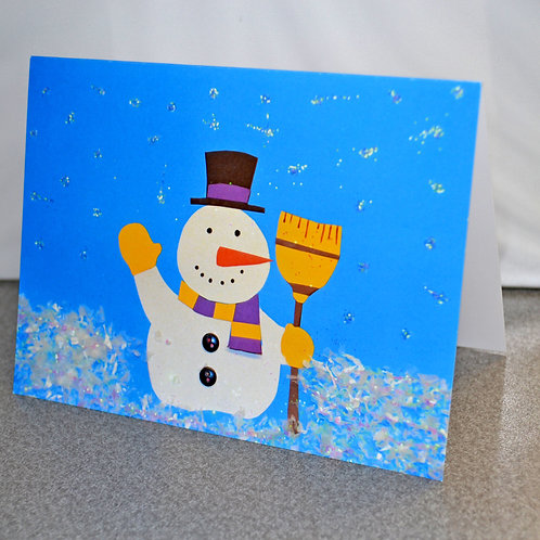 HOLIDAY CARD PACK - Snowman (10 count)