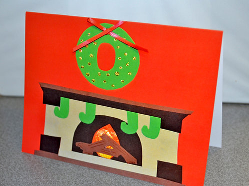 HOLIDAY CARD PACK - Fireplace (10 count)