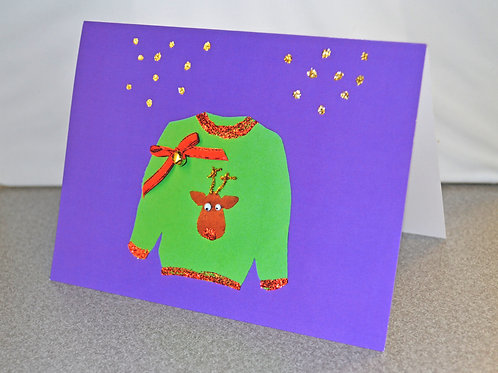 HOLIDAY CARD PACK - Ugly Sweater (10 count)