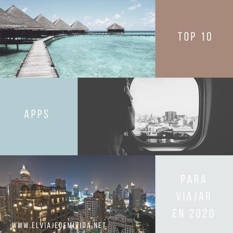 TOP 10 DE APPS PARA VIAJAR ESTE 2020
