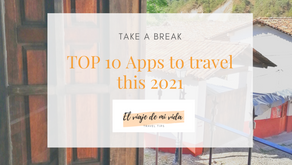 TOP 10 APPS TO TRAVEL THIS 2021