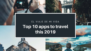 TOP 10 APPS TO TRAVEL THIS 2019
