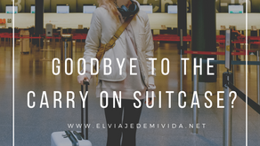 Goodbye to the carry on suitcase?