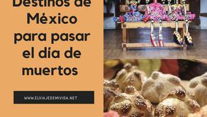 Los 5 mejores destinos de México para pasar el Día de Muertos