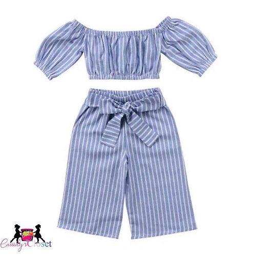 Pretty in Blue Stripes
