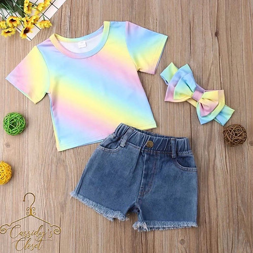 Rainbow 3pc