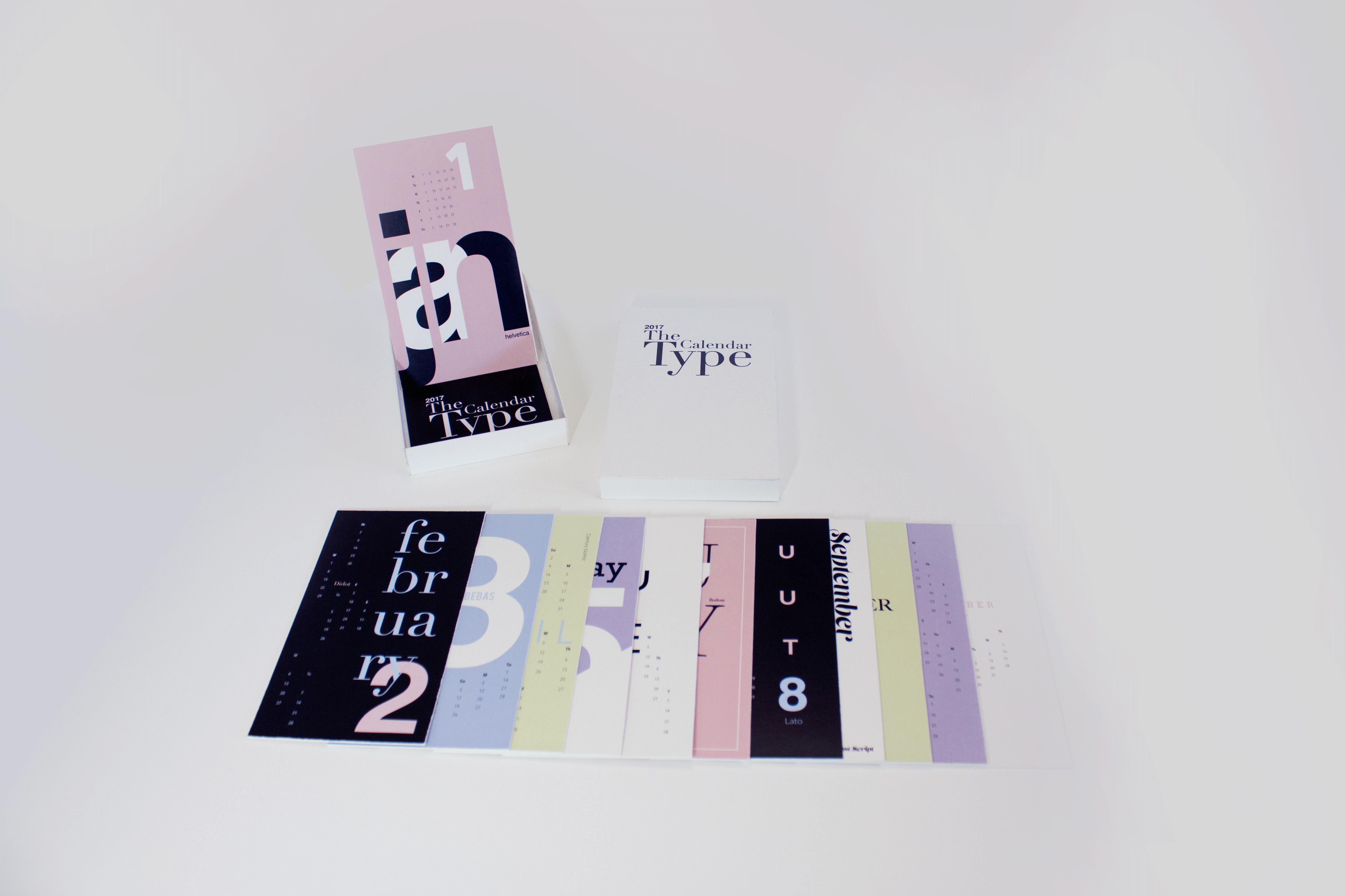 Anastasia Maharani Type Calendar