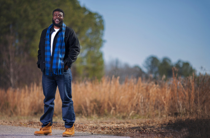 portrait of black man by sharde richardson photography