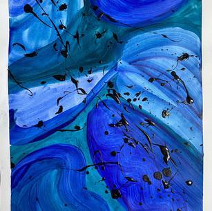 Bleu du voyage I