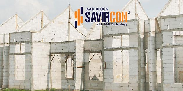 bata ringan, aac block are used