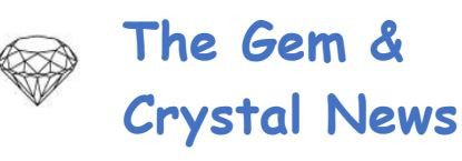 April 2020 The Gem & Crystal News