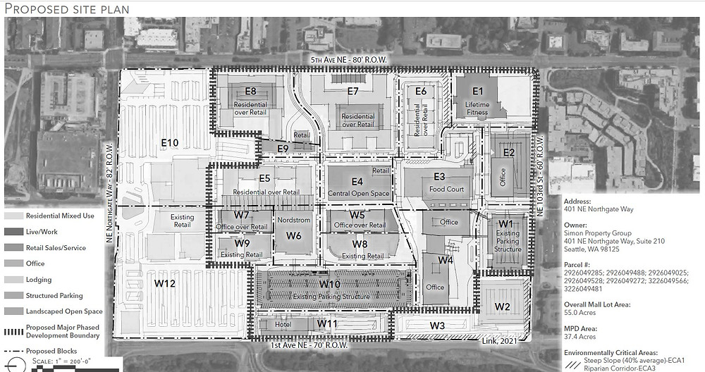 Northgate mall development