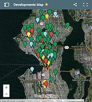 Seattle Development Map